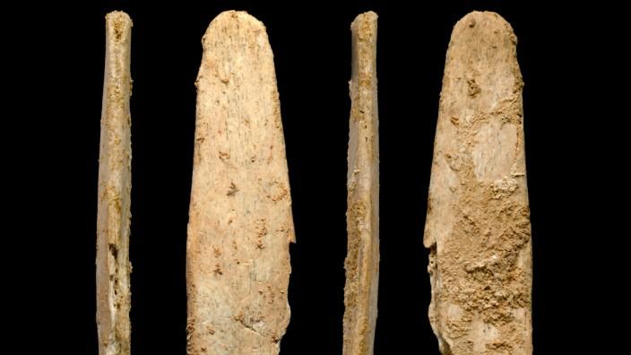 Knochenwerkzeuge der Neandertaler