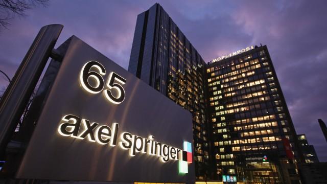 ARCHIV: Axel Springer verkauft Regionalzeitungen, Programm- und Frauenzeitschriften an die Funke Mediengruppe