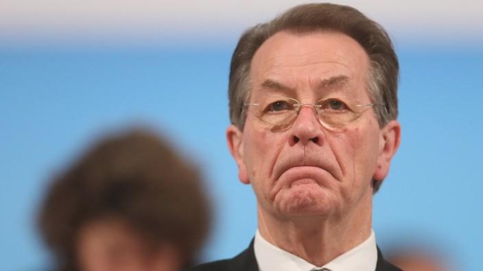 Nicht erfreut über den Auftakt der SPD-Kampagne: Franz Müntefering