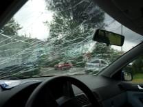 Kfz-Versicherung Teilkaskoversicherung Windschutzscheibe Hagelschaden
