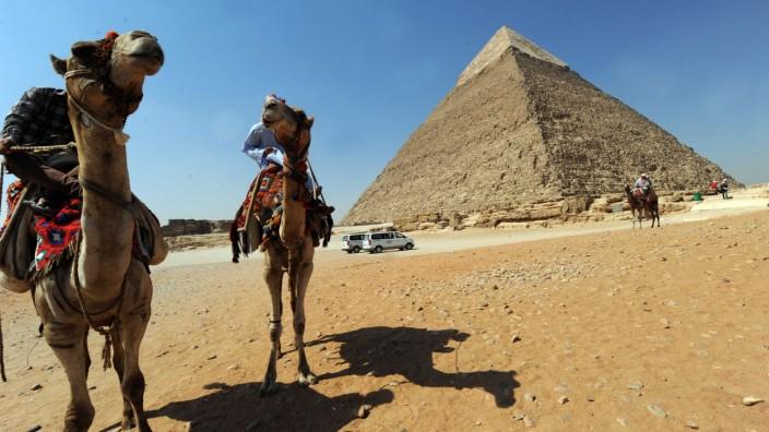 Ägypten Touristen Gizeh