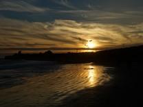 Malibu Strand Sonnenuntergang