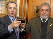 Uribe, Lula, Schweinegrippe, Reuters