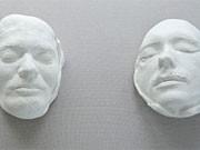 totenmasken ausstellung dpa
