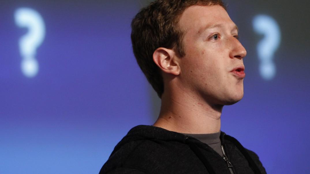 Hacker schreibt auf Zuckerbergs Facebook-Seite