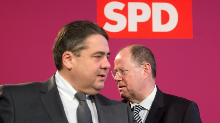 SPD Sigmar Gabriel Peer Steinbrück