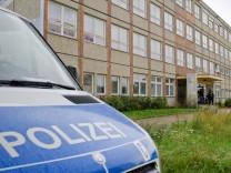 Festnahmen vor Flüchtlingsheim in Berlin-Hellersdorf