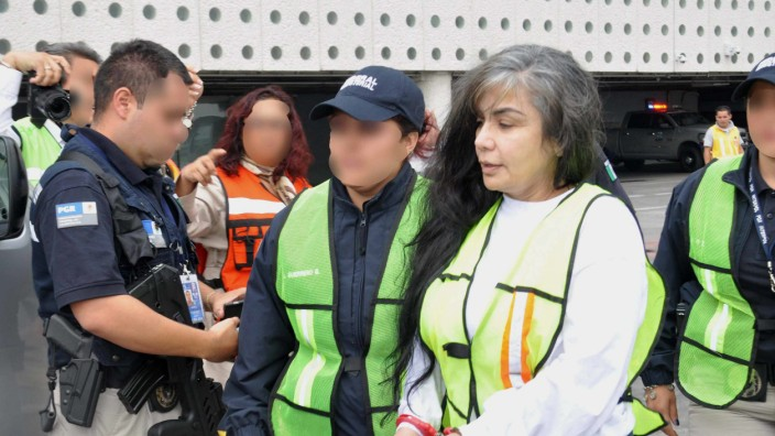 'THE QUEEN OF THE PACIFIC ' ARRIVES TO MEXICO DEPORTED FROM USA