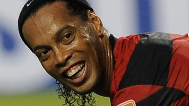 Fußball Ronaldinho und Eto'o in der Türkei