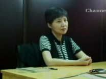 Gu Kailai speaks in this still image taken from a video screened and provided by the Jinan Intermediate People's Court in Jinan