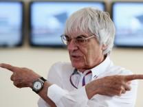 (FILE) Bernie Ecclestone Indicted For Bribery In German Case F1 Grand Prix Of India