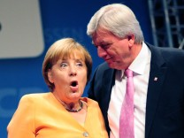 CDU-Wahlkampf in Hessen