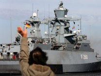 Korvette und Schnellboot in den Libanon verabschiedeet