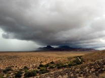Tropical Storm Ivo Brings Rain To Las Vegas