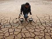 Bauer, Dürre, China, Symbolbild, Reuters