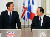 David Cameron und François Hollande