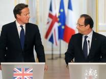David Cameron und François Hollande