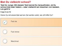 Bravo Schwul Test Homosexualität