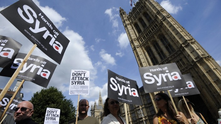 Military intervention in Syria expected