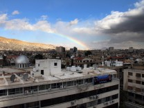 Unrest in Damascus