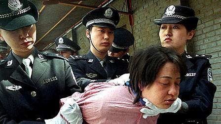 Todesstrafe China 2001 Hinrichtung dpa