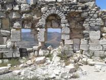 Zerstörung von Kulturschätzen in Syrien Krak des Chevaliers