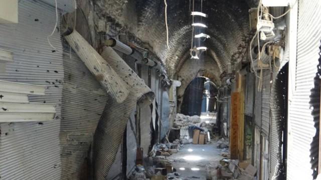 Zerstörung von Kulturschätzen in Syrien