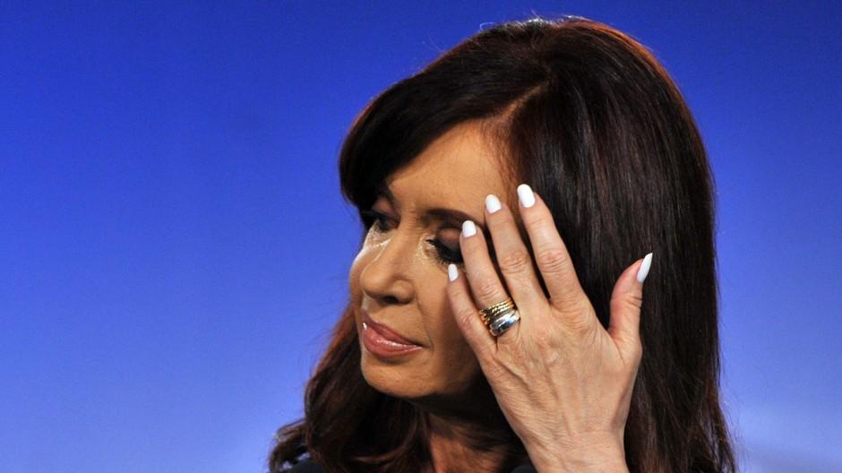 Cristina Kirchner Streit mit Hedgefonds