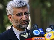 Irans Chefunterhändler Said Dschalili, AFP