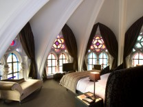Übernachtung im Stiefel, Frühstück im Himmel-Ungewöhnliche Hotels