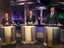 TV-Dreikampf zur Bundestagswahl