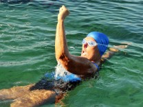 US SWIMMER DIANA NYAD FIVE ATTEMPT FOR CROSSING CUBA-FLORIDA