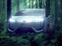 Toyota, Wasserstoffauto, Brennzelle, Brennstoffzelle, FCHV, Toyota FCHV