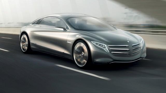 Mercedes F125, Mercedes, Brennstoffzelle