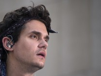 American singer-songwriter John Mayer performs during NBC's 'Today' show summer concert series in Midtown, New York