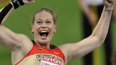 Leichtathletik-WM Kugelstoßen: Nadine Kleinert