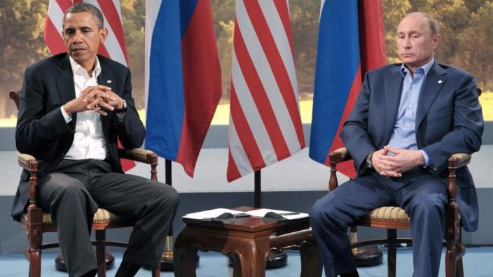 Barack Obama und Wladimir Putin