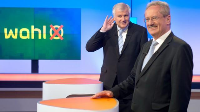 TV-Duell Seehofer und Ude