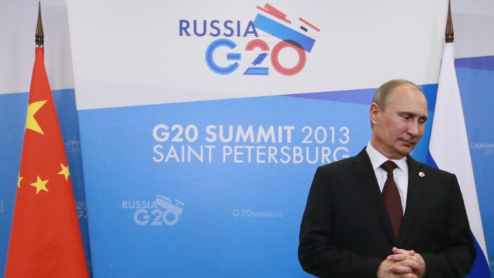 G20 Wladimir Putin Syrien Militäreinsatz Obama Debatten