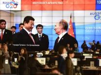 G20 G-20-Gipfel Syrien Wladimir Putin  Xi Jinping