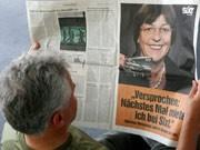 Ulla Schmidt hat es mit ihrem Dienstwagen-Malheur bis in die Werbung geschafft, dpa