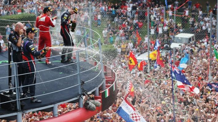 Formel 1 Sebastian Vettel Monza