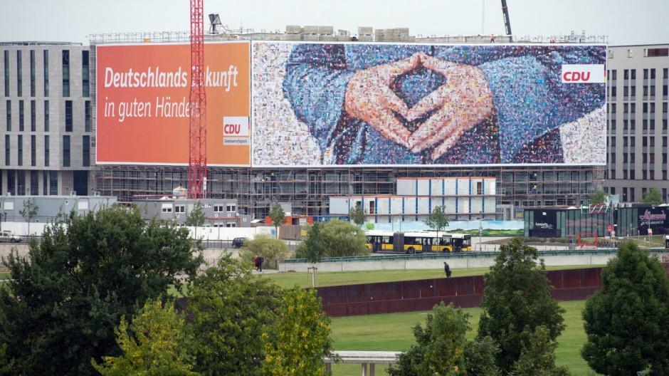 Plakate zur Bundestagswahl
