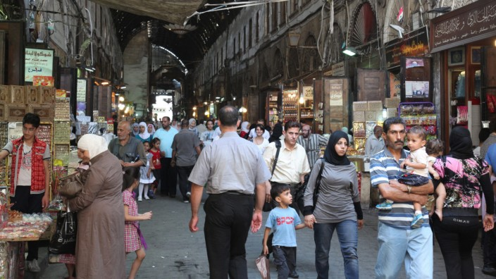 Daily life in Syria ahead of a possible US attack