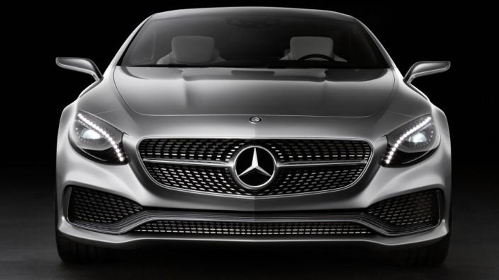 Mercedes S-Klasse Coupé Concept, Mercedes, IAA, IAA 2013