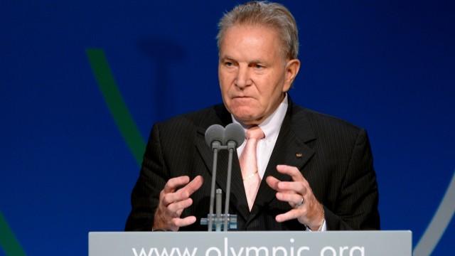 Olympia Kandidaten für die IOC-Präsidentschaftswahl