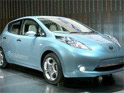 Elektroauto, Nissan Leaf; getty images