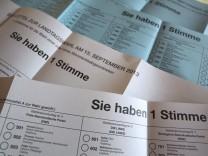 Bayerische Landtagswahl 2013