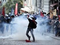 Anti government protest in Turkey