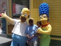 Simpsons Vergnügungspark Orlando Florida Marge Homer USA